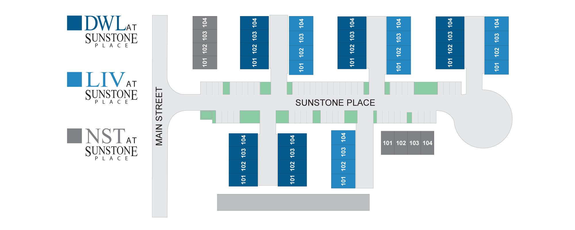 Sunstone Place Hz Map